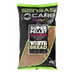 Super Pellet Groundbait White Bread