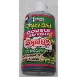 Crazy Bait Squirts Kattevoer-Lever