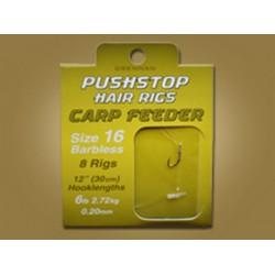 Drennan Pushstop Carp Feeder Hair rigs