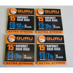 Guru Bayonets hair rigs 15''