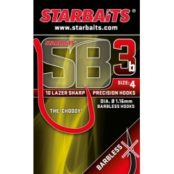 Starbaits SB3 Barbless hooks