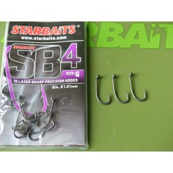 Starbaits SB4 Barbless Hooks