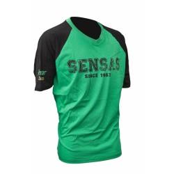 Sensas T-Shirt Groen & Zwart