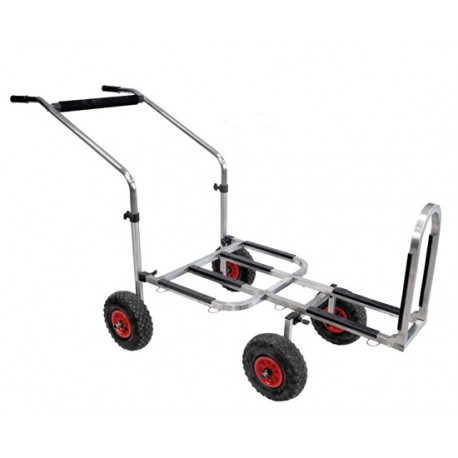 Rive Stainless Steel Transporter 4 Wheels