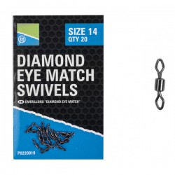 Preston Diamond Eye Match Swivel