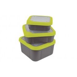 Matrix Bait Box Grey / Lime